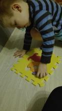 puzzle piankowe- zwierzątka