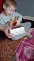 Ulubione pudełeczko ze skarbami Adasia