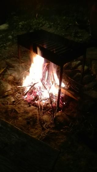 Na wszystko był czas, na zabawę przy ognisku również :-)