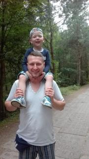 spacer z tatą