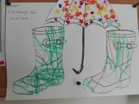 """Rysunek Adasia w przedszkolu """" Zaczarowny ogród"""" Polecam stronę internetową przedszkola http://www.zaczarowanyogrod.tychy.pl/ tam znajdziecie mnóstwo aktualnych fotorelacji."""