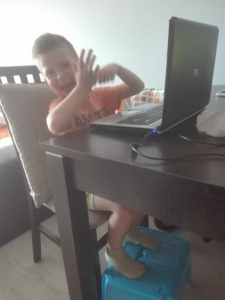 Mama dała komputer :)