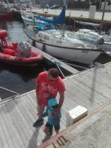 statki mało interesowały Adasia, ale cała reszta....