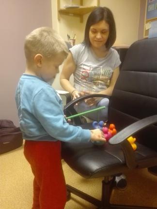 Zajęcia neurologopedyczne, terapia ręki