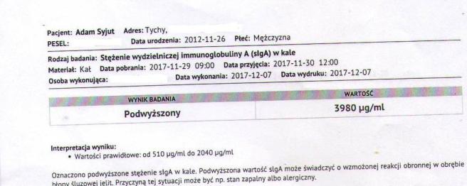 wyniki Poznań A (slgA)