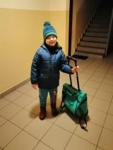 Adaś stwierdził, że na zajęcia integracji sensorycznej niezbędna jest torba podróżna